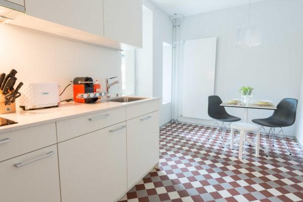 Kochen im Business Apartment Luzern