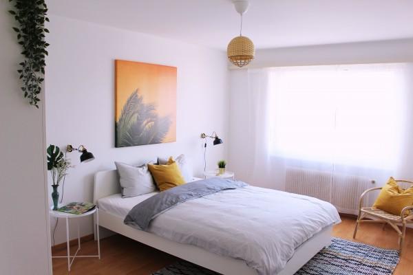 Zug Schlafzimmer Möbliertes Apartment