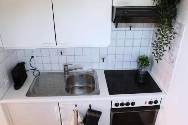 Küche Business Apartment Zug