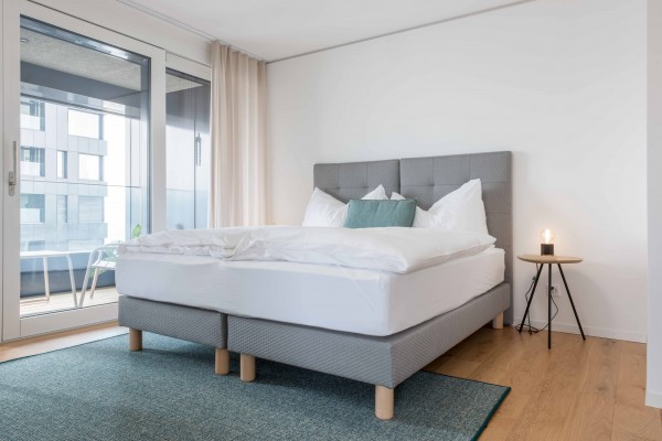 Zürich Schlafzimmer Business Apartment