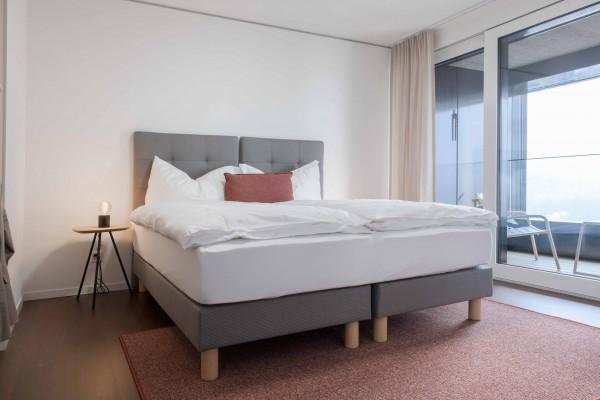 Schlafzimmer Business Apartment Zürich