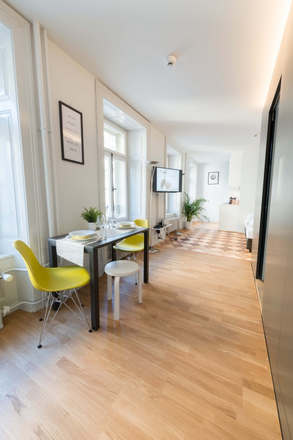 Wohnraum Business Apartment Luzern