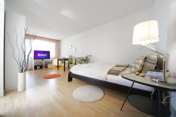 Luzern Wohnzimmer Möbliertes Apartment