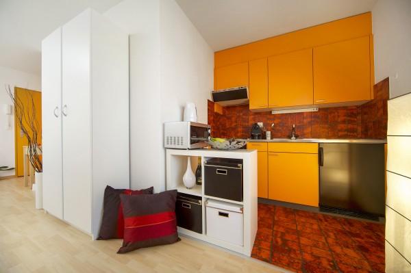 Kochen im Serviced Apartment Luzern