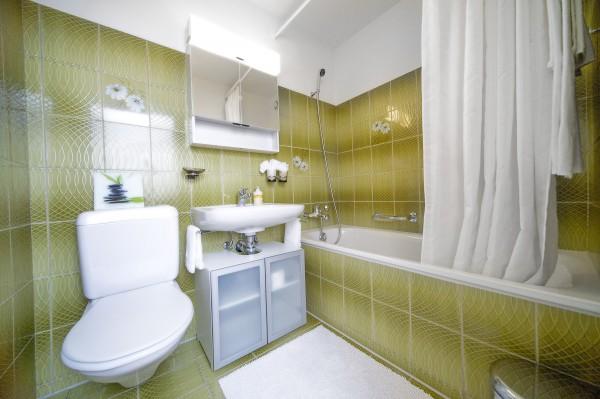 Luzern Badezimmer des Serviced Apartment