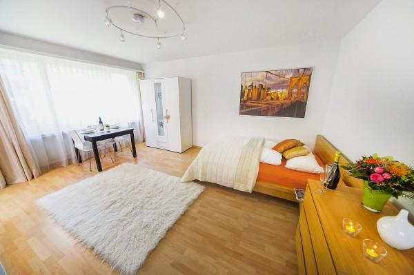 Wohnraum Serviced Apartment Luzern
