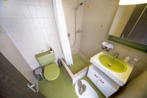 Luzern Badezimmer des Möblierten Apartments