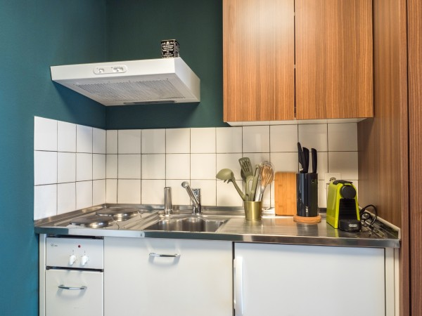 Kochen im Business Apartment Zug