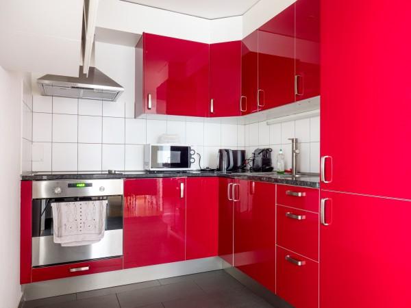 Zug Küche Möbliertes Apartment