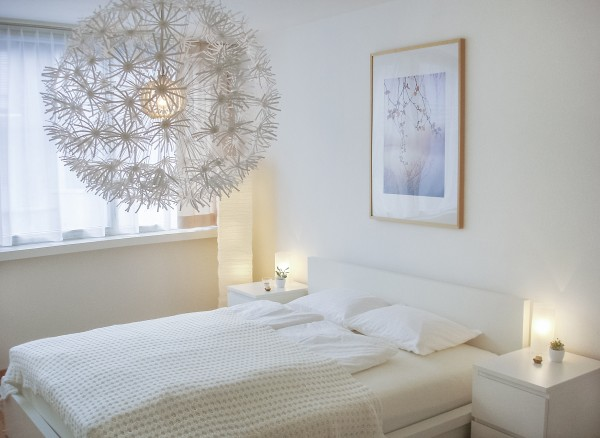 Luzern Schlafzimmer Serviced Apartment