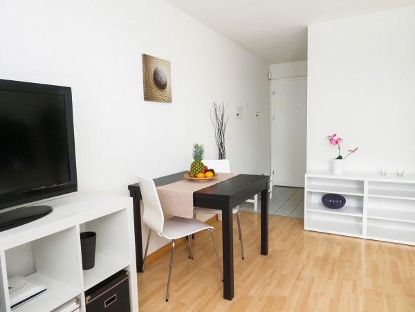 Wohnzimmer Business Apartment Luzern