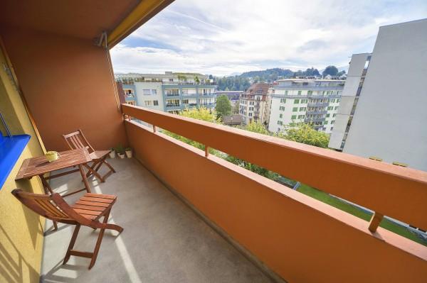 Luzern Balkon Möbliertes Apartment