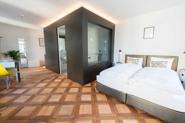 Wohnraum Serviced Apartment Luzern