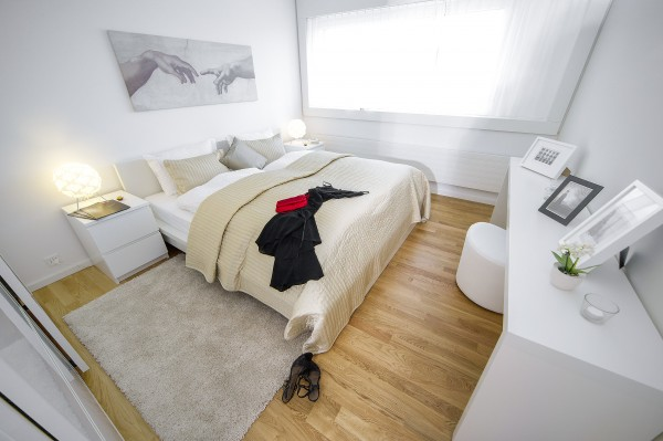 Zug Schlafzimmer Serviced Apartment