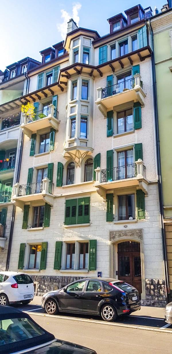 Aussenansicht Business Apartment Luzern