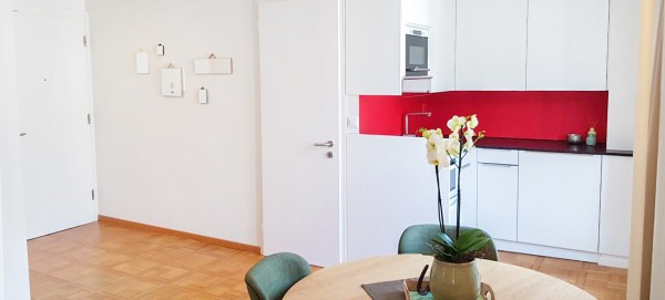 Küche des Möblierten Apartment Luzern