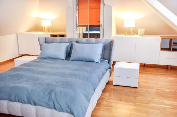 Zug Schlafzimmer des Möblierten Apartment