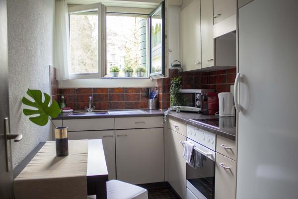 Küche Möbliertes Apartment Luzern