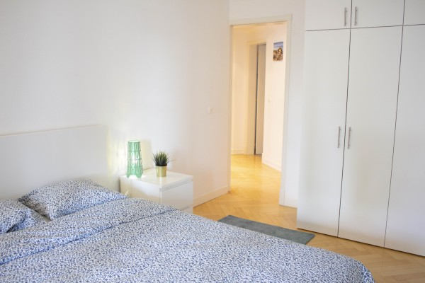Schlafzimmer Serviced Apartment