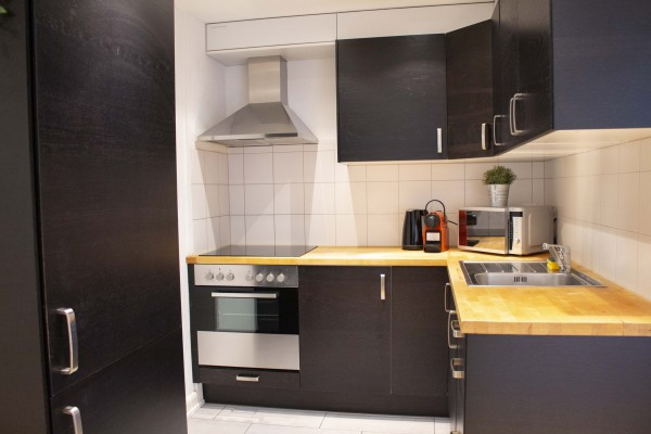 Küche möbliertes Apartment