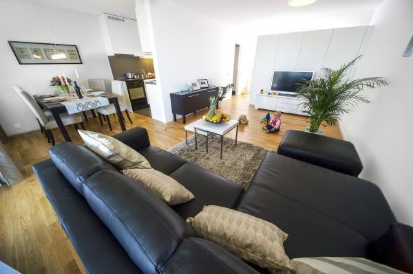 Zug Wohnzimmer Business Apartment