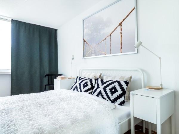 Luzern Schlafzimmer Möbliertes Apartment