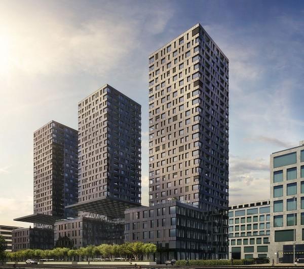 Gebäudekomplex Business Apartment Zürich