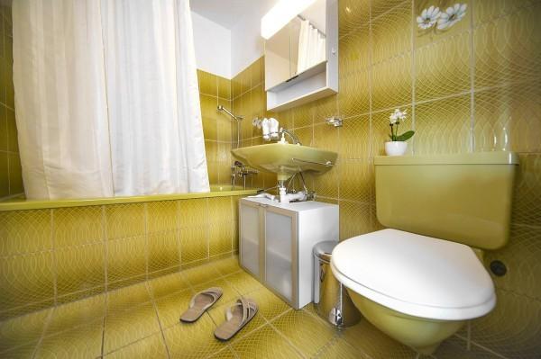 Badezimmer Serviced Apartment Luzern
