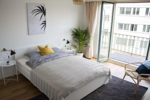 Schlafzimmer Service Apartment Luzern