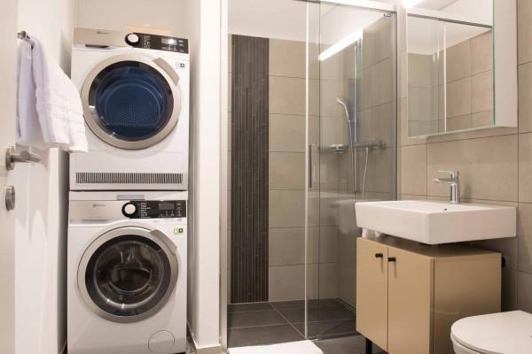 Zürich Badezimmer im Möblierten Apartment