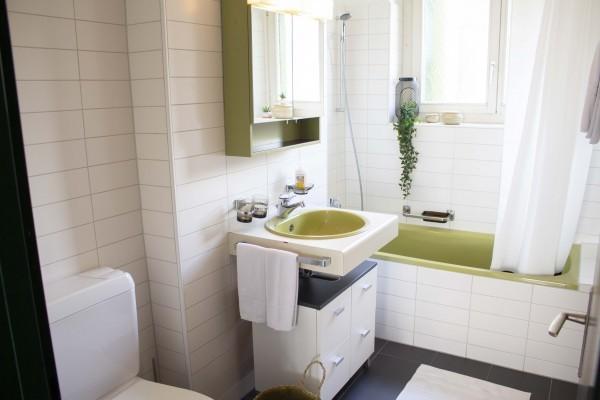 Badezimmer Serviced Apartment