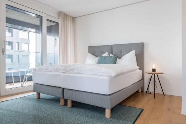Zürich Schlafzimmer Business Apartment