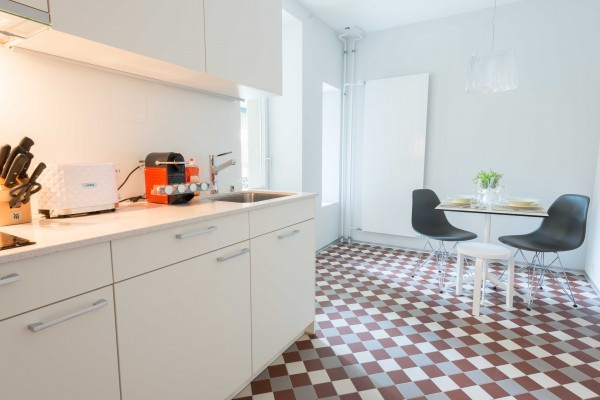 Kochen im Business Apartment Luzern